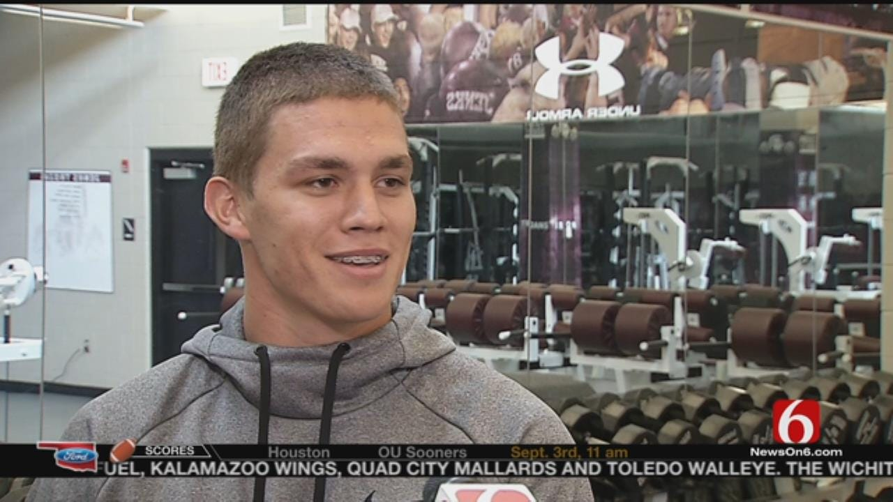 Former Jenks, OSU DB Dylan Harding Talks Life After Football, Says Allan Trimble's ALS Diagnosis was 'Tough To Hear'