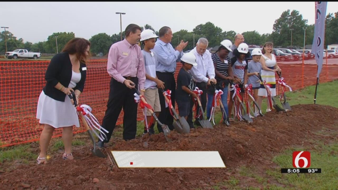 Union Schools Breaks Ground On 14th Elementary School
