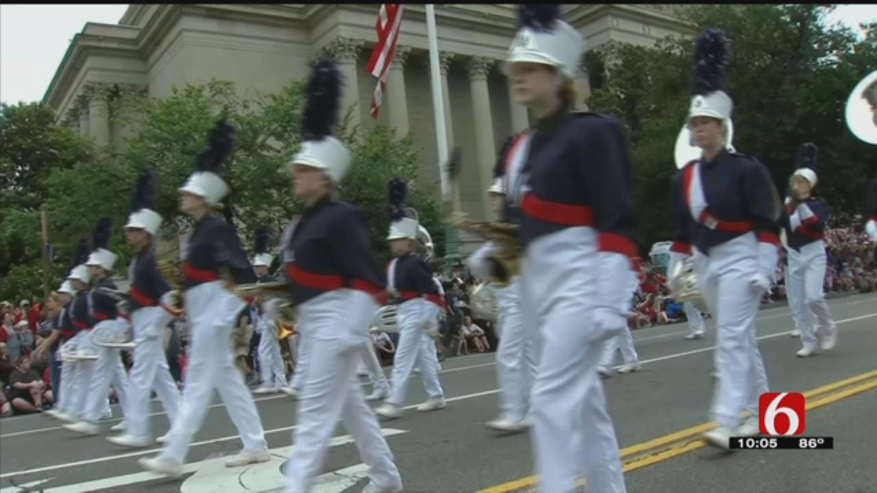 Beggs High School Band Marches In National Independence Day Parade