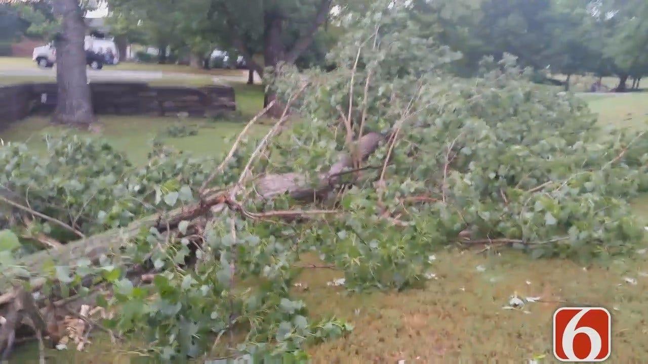Dave Davis Gives Update On Collinsville Storm Damage