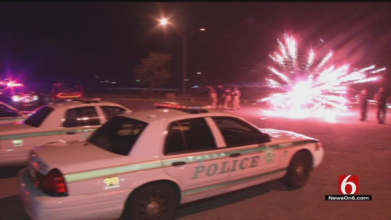 OK Firefighters Being The Target Of Fireworks 'Not Anything New'