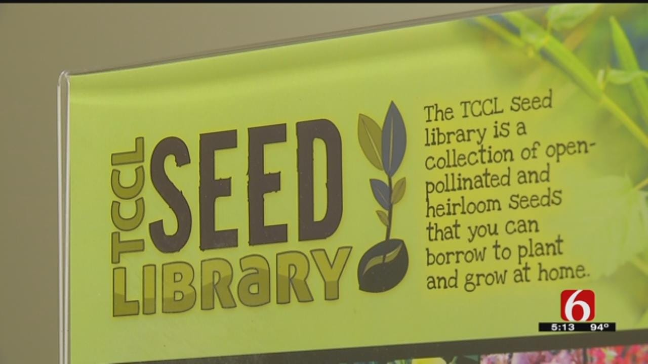 Tulsa City-County 'Seed Library' Ready For Summer Gardeners
