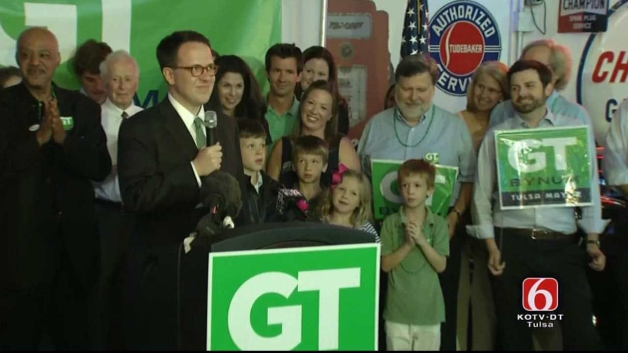 GT Bynum Defeats Incumbent Bartlett For Tulsa Mayor