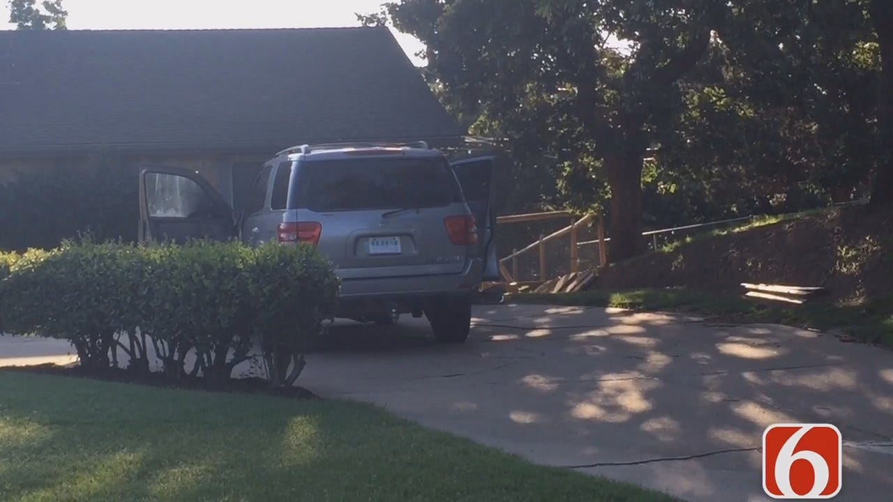 Gary Kruse Reports On Sand Springs Burglary, Arrest