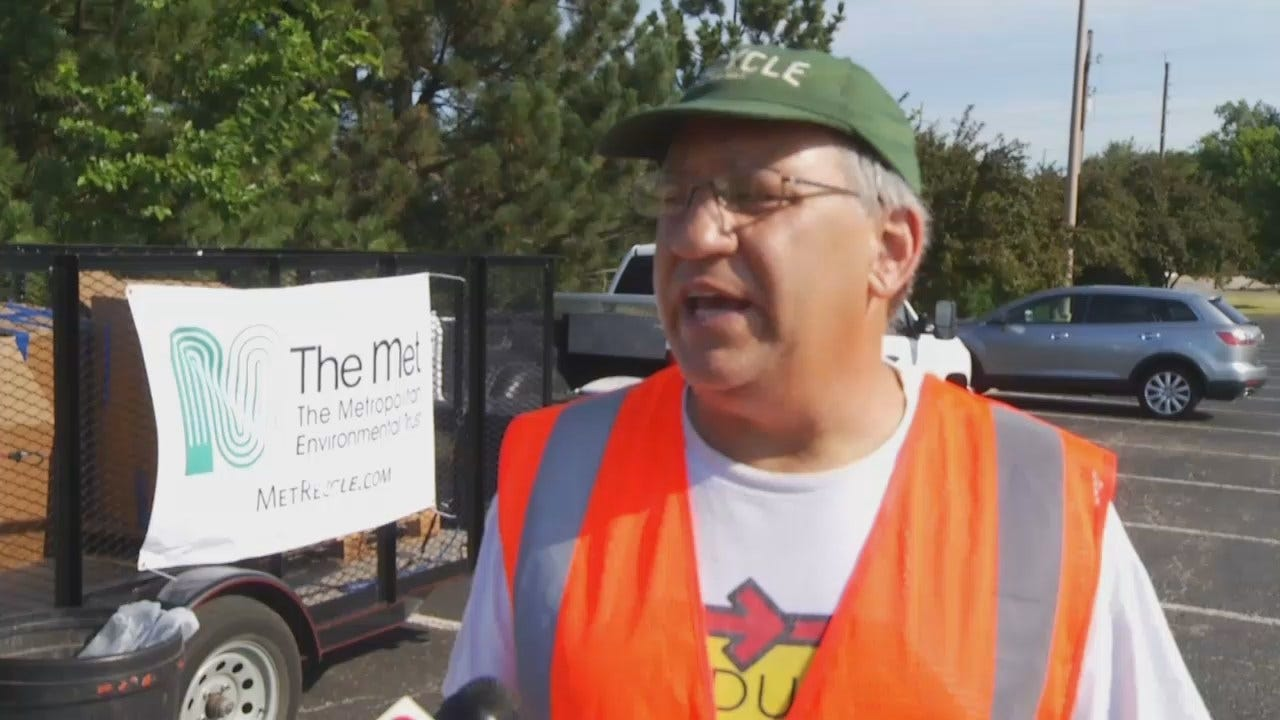 WEB EXTRA: M.E.T.'s Executive Director Graham Brannin Explains Importance Of Recycling
