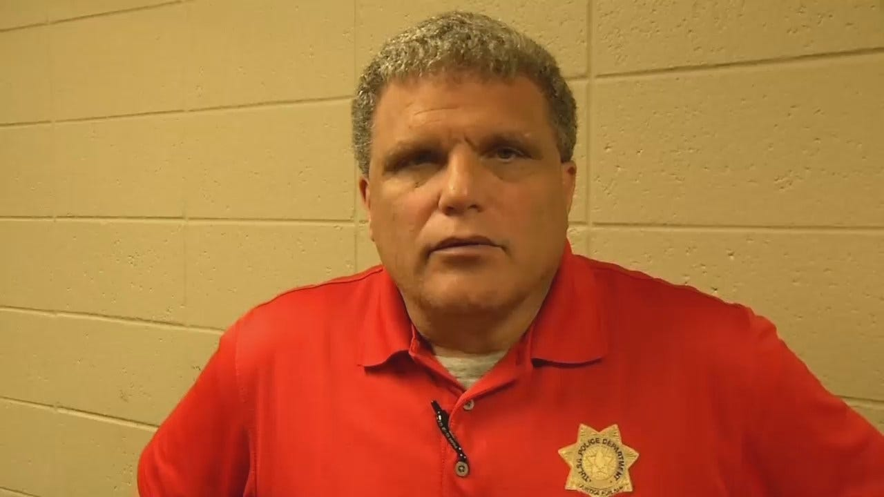 WEB EXTRA: Tulsa Police Sgt. Dave Walker Talks About Carjackings, Deadly Shooting
