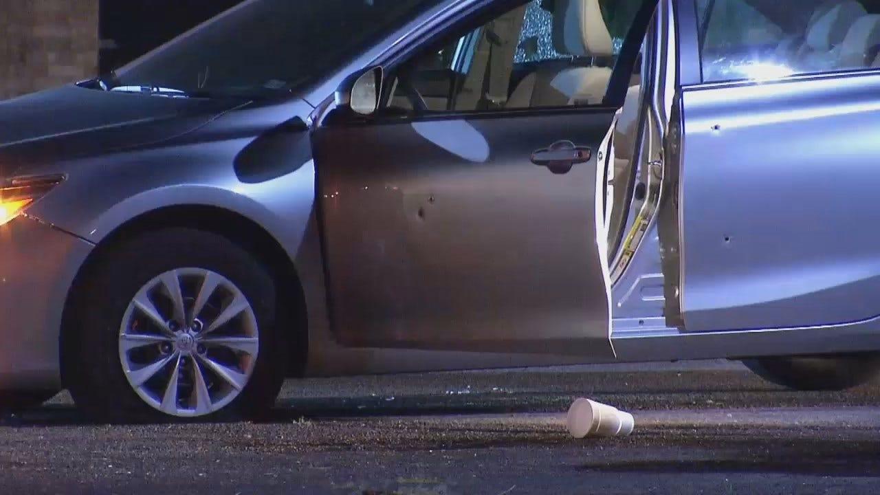 WEB EXTRA: Video Of Car Hit By Gunfire At Tulsa Car Wash