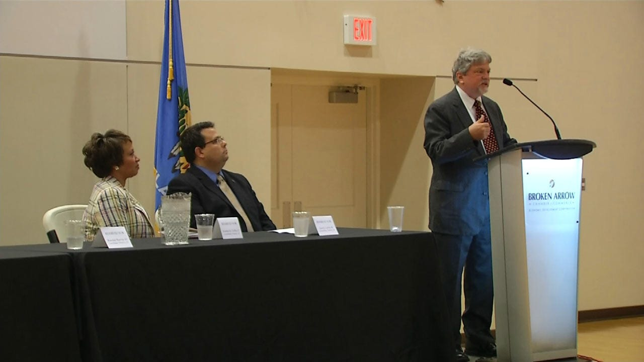 State Senate Candidates Answer Tough Questions At BA Forum