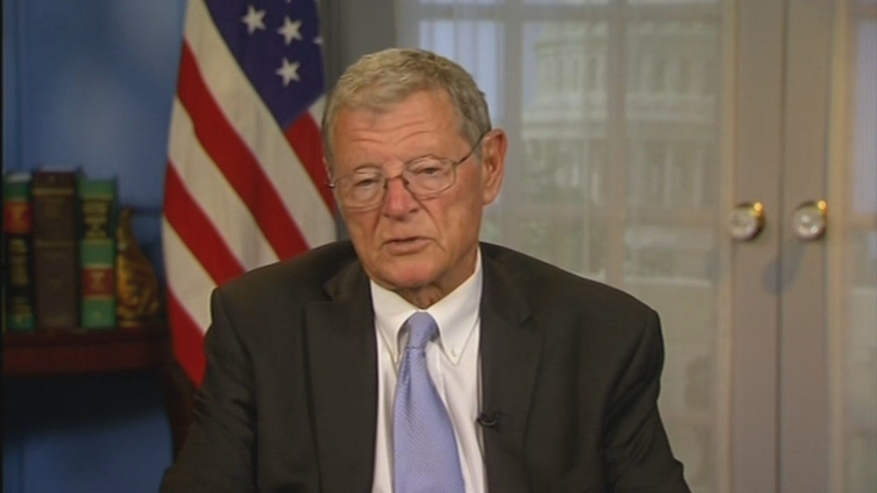 WEB EXTRA: Jim Inhofe Announces Support For Dewey Bartlett