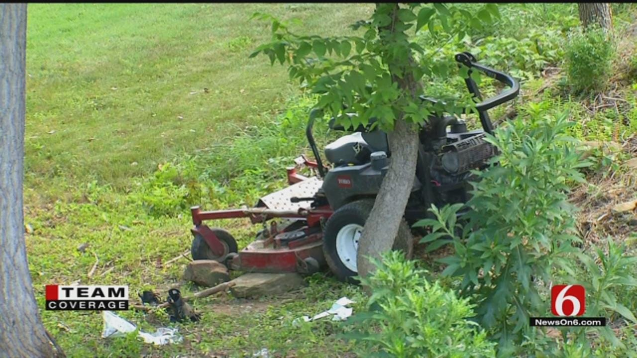 Man Injured In Lawnmower Accident At Gilcrease Museum