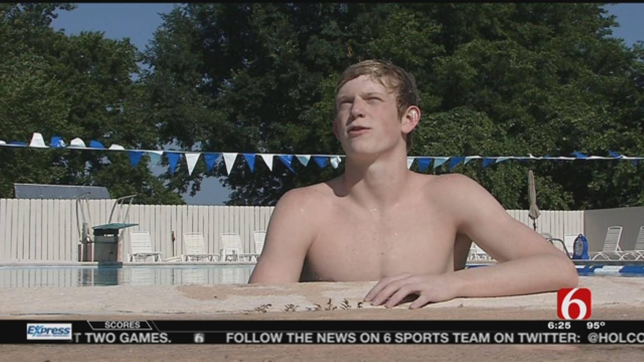 Bishop Kelley Swimmer Patrick Callan Gets Chance To Represent State Nationally