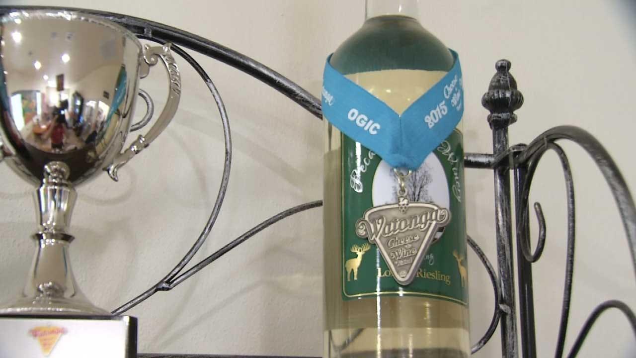 New Muskogee Winery Already Winning Awards