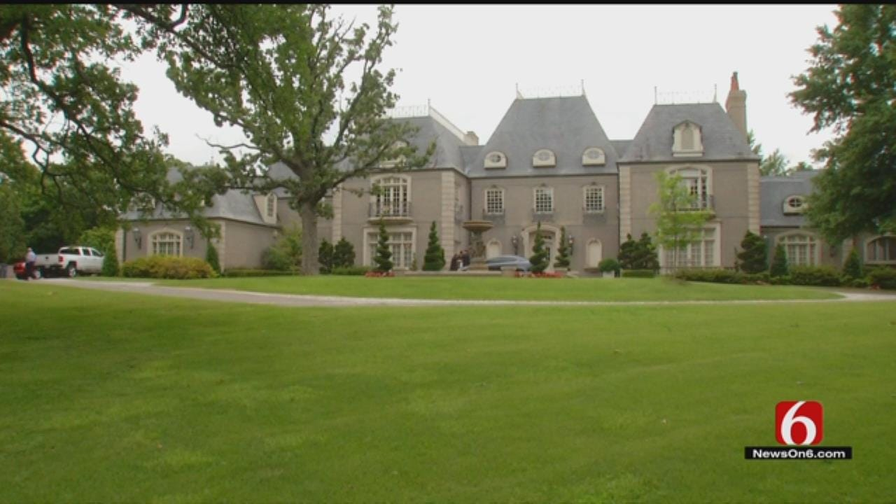 Auction Underway For Tulsa's House Of Four Seasons Mansion