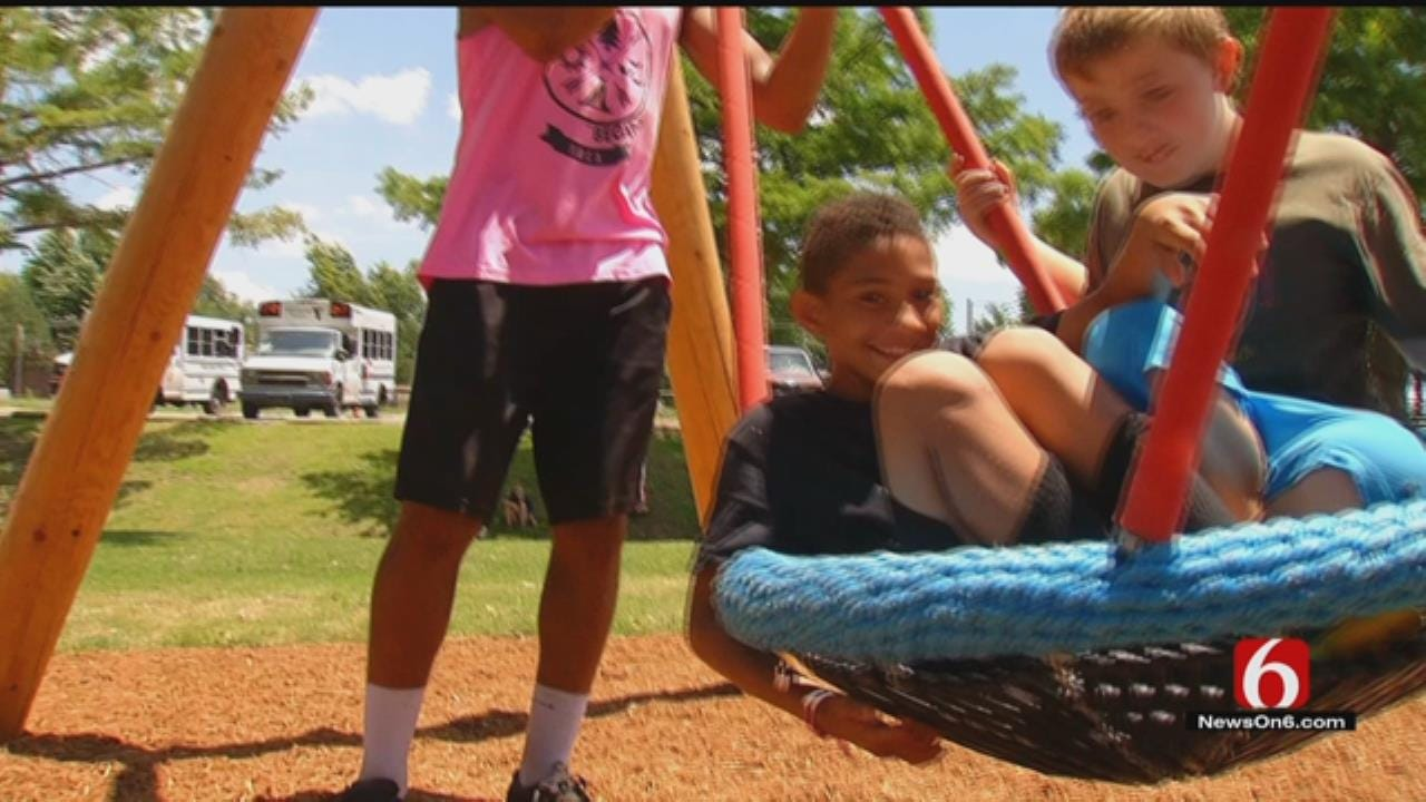 New Swing Just A Taste Of What To Expect At Tulsa's Gathering Place