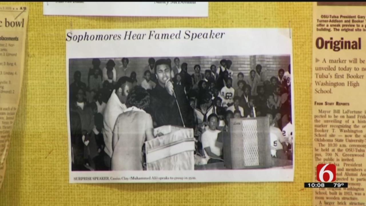 Muhammad Ali's Surprise Visit Has Lasting Impacting On Tulsans