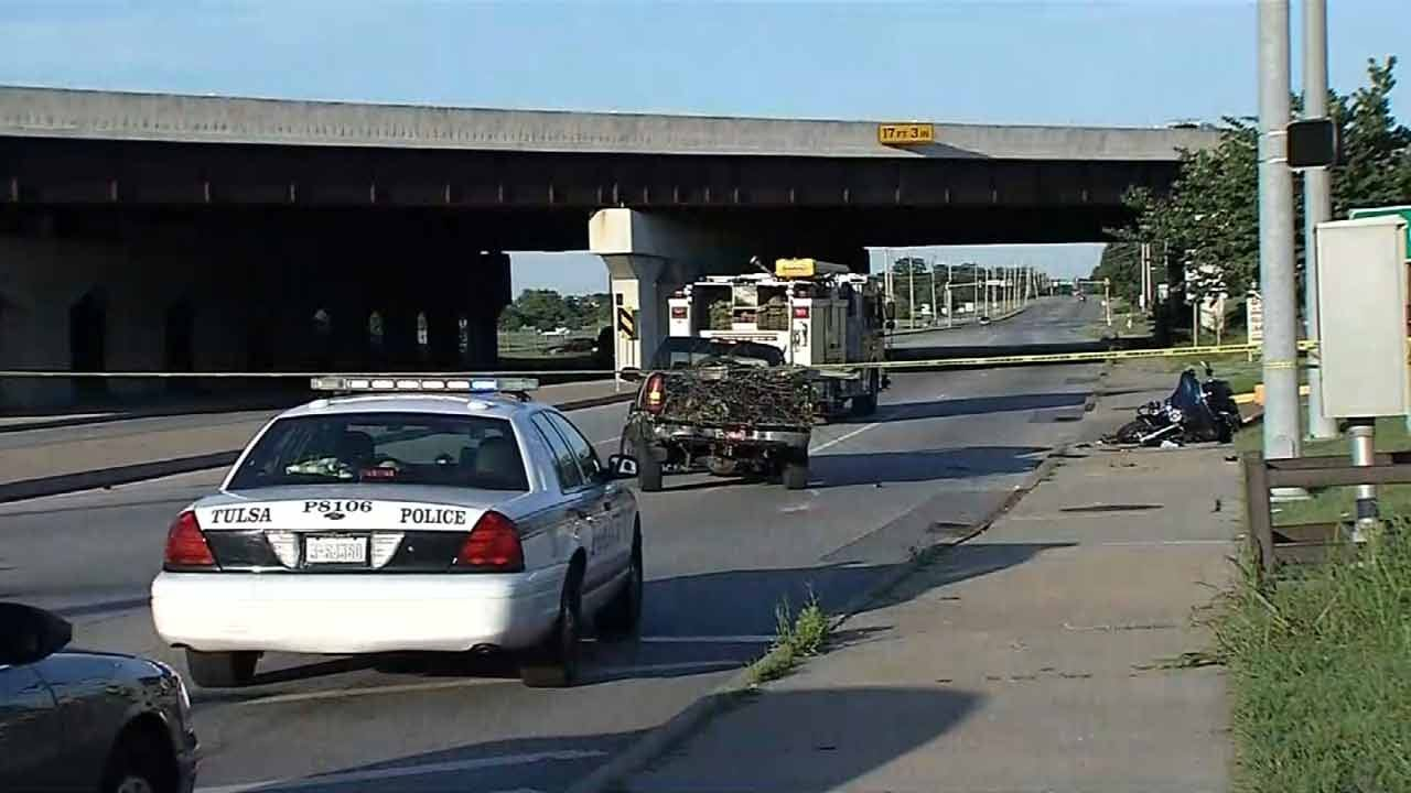 WEB EXTRA: TPD On Hit-And-Run Involving Motorcycle