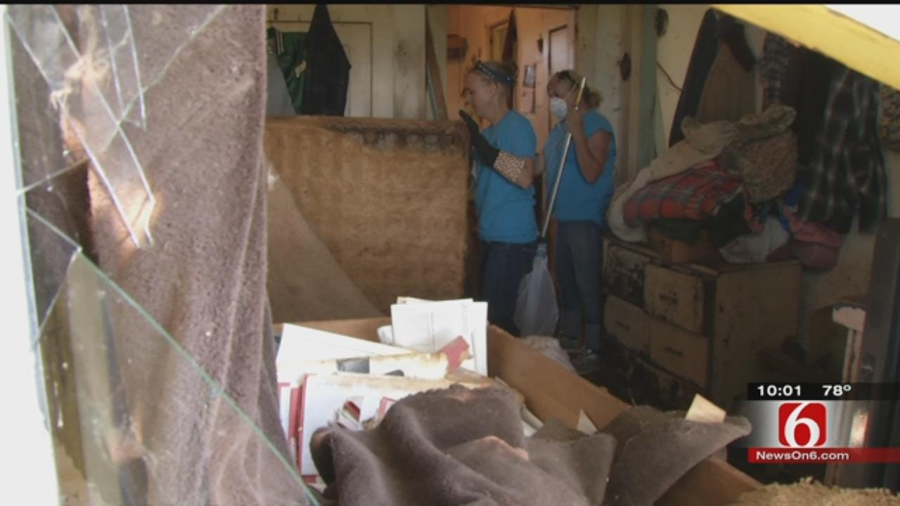 Wagoner Co. Sheriff's Dept. Finds Elderly Man, 30 Animals, Living In Filthy Conditions