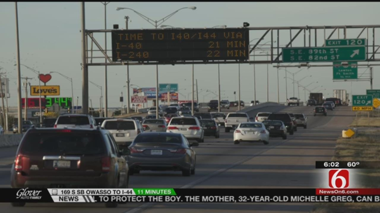 Real-Time Traffic Info Now Displayed On Tulsa Message Boards