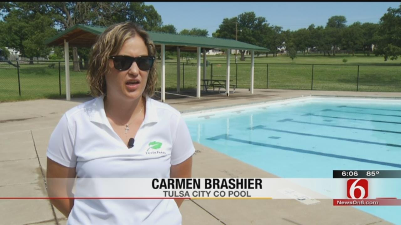 Tulsa County Pools Opening For Summer, Fully Staffed With Lifeguards