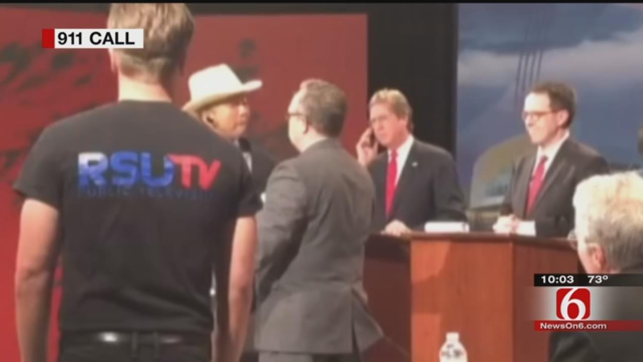 Tulsa Mayor Dewey Bartlett's 911 Call During Mayoral Debate