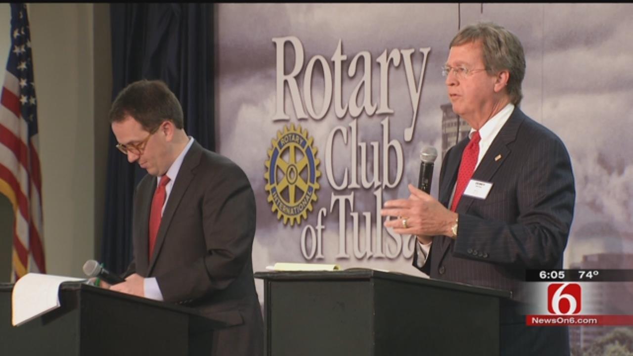 Mayoral Candidates Bartlett, Bynum Debate In Tulsa