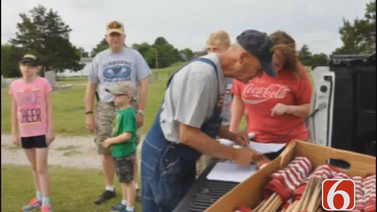 Tess Maune: Hominy 'Flag Man' Rallies Community To Remember Fallen Heroes
