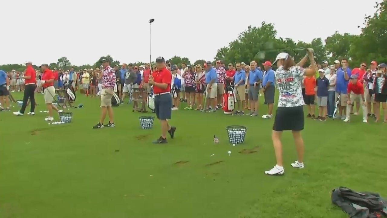 WEB EXTRA: Video From Owasso's Patriot Cup Invitational