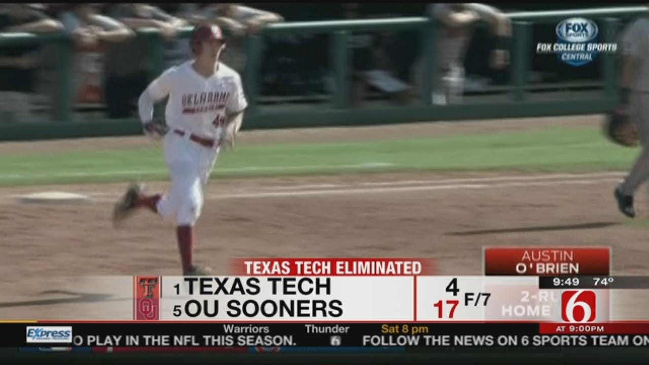 Wise Helps Sooners Past Top-Seeded Texas Tech