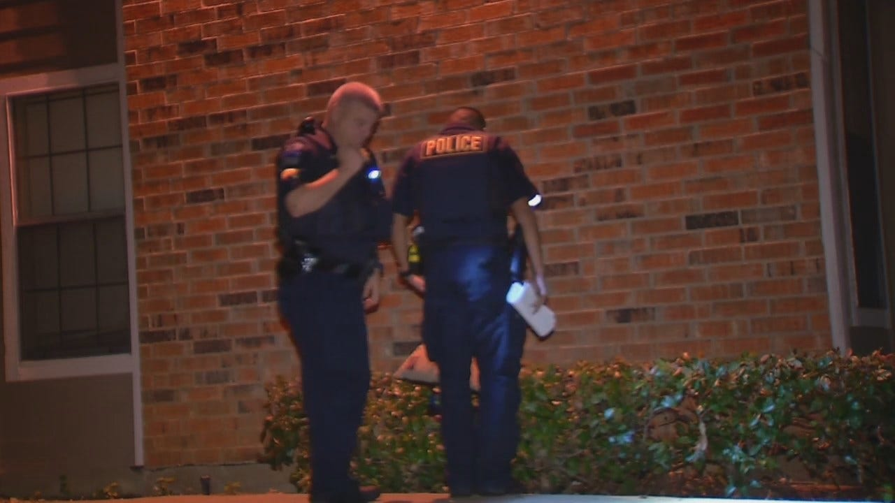 WEB EXTRA: Video From Scene Of Deadly Tulsa Home Invasion