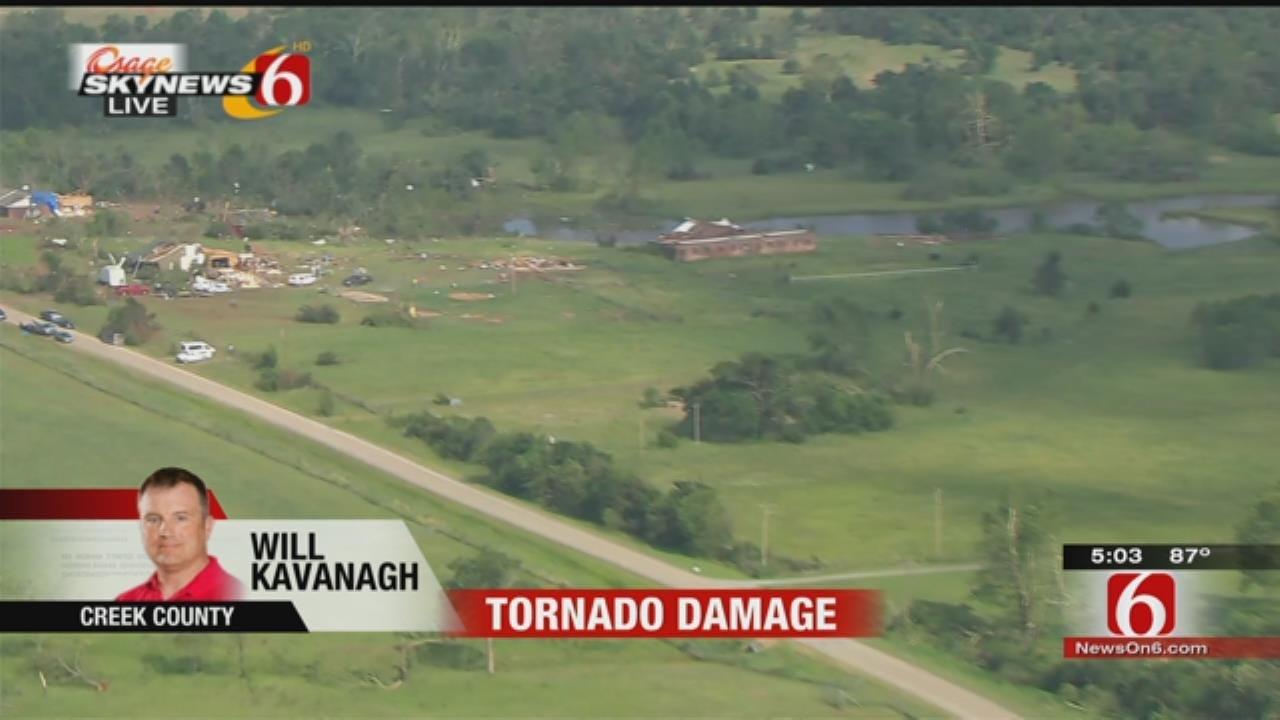 Osage SkyNews 6 HD Over Bristow Damage