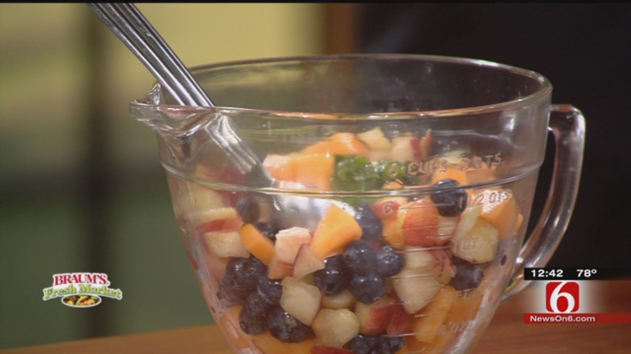 Minted Blueberry Fruit Salad