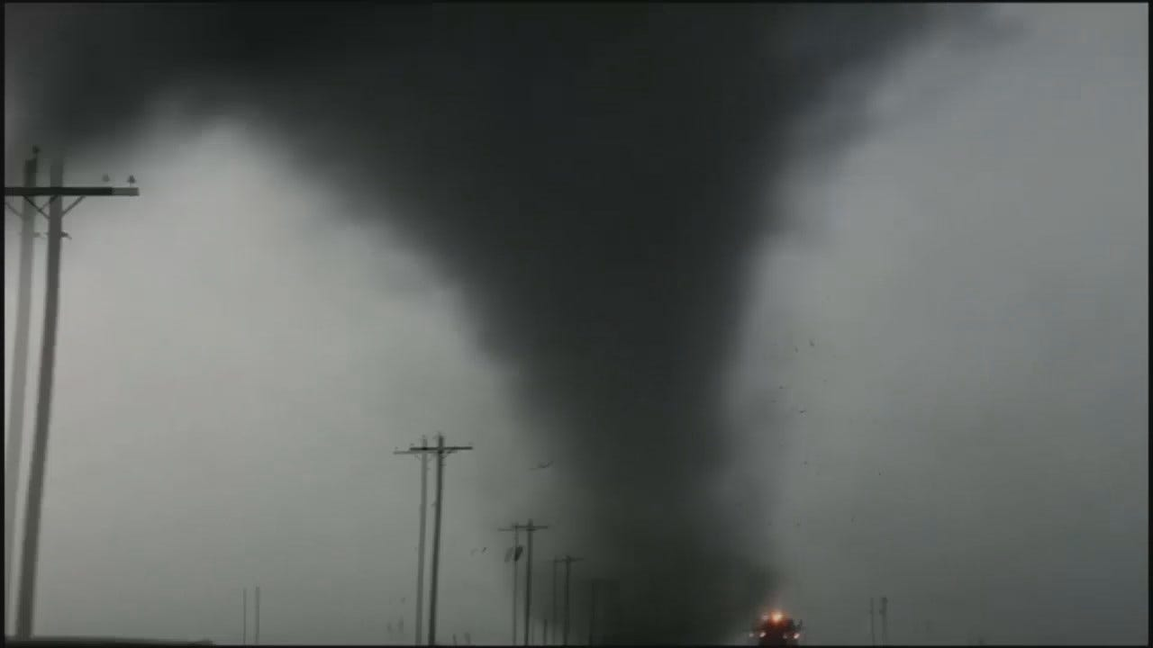 WEB EXTRA: Tornadoes In Near Dodge City, Kansas