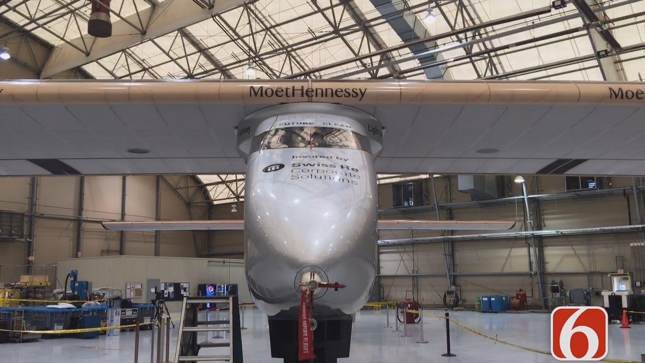 Tony Russell Reports The Solar Impulse 2 Will Leave Tulsa Early Saturday