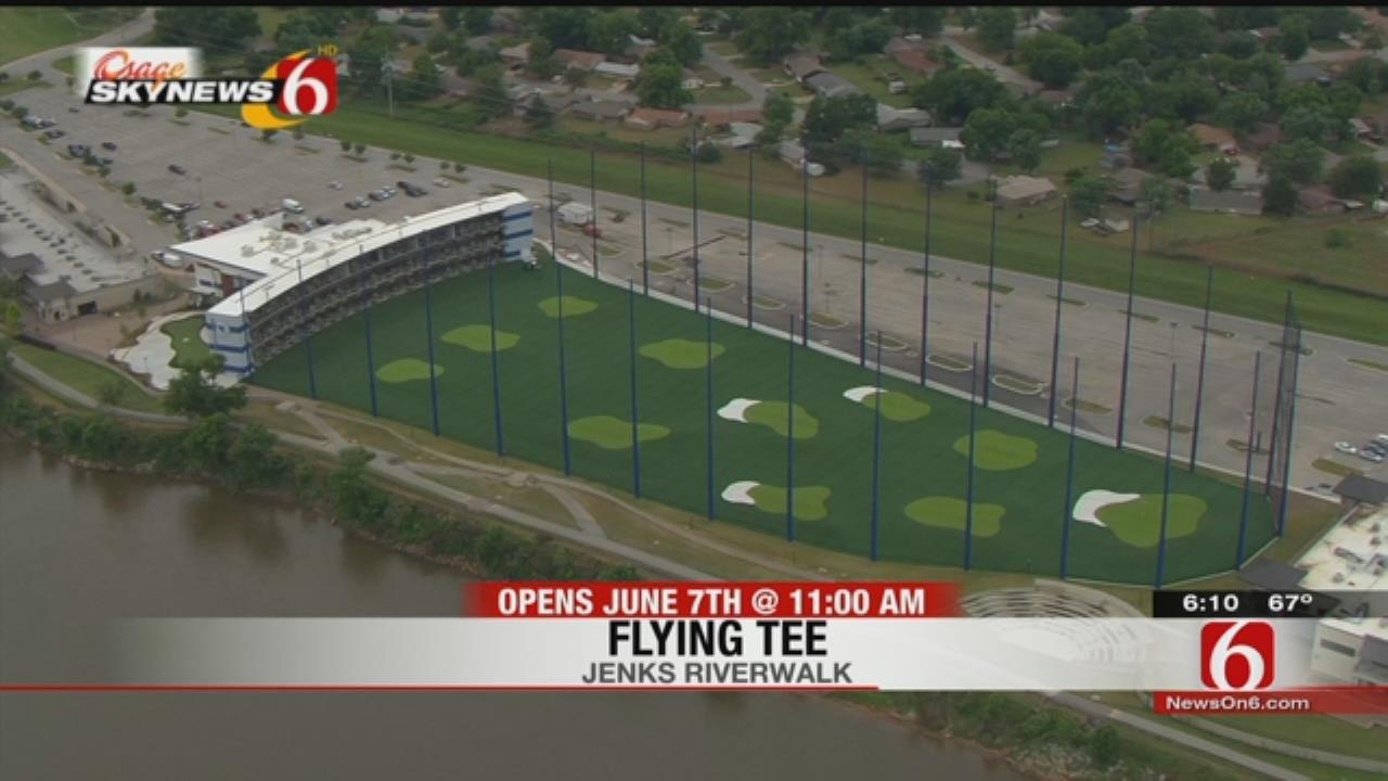 Flying Tee, Jenks Golf Entertainment Venue, Opens In June
