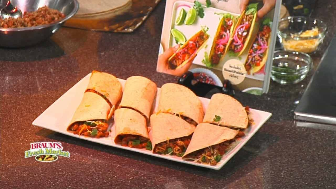 Burritos With Turkey And Pinto Beans