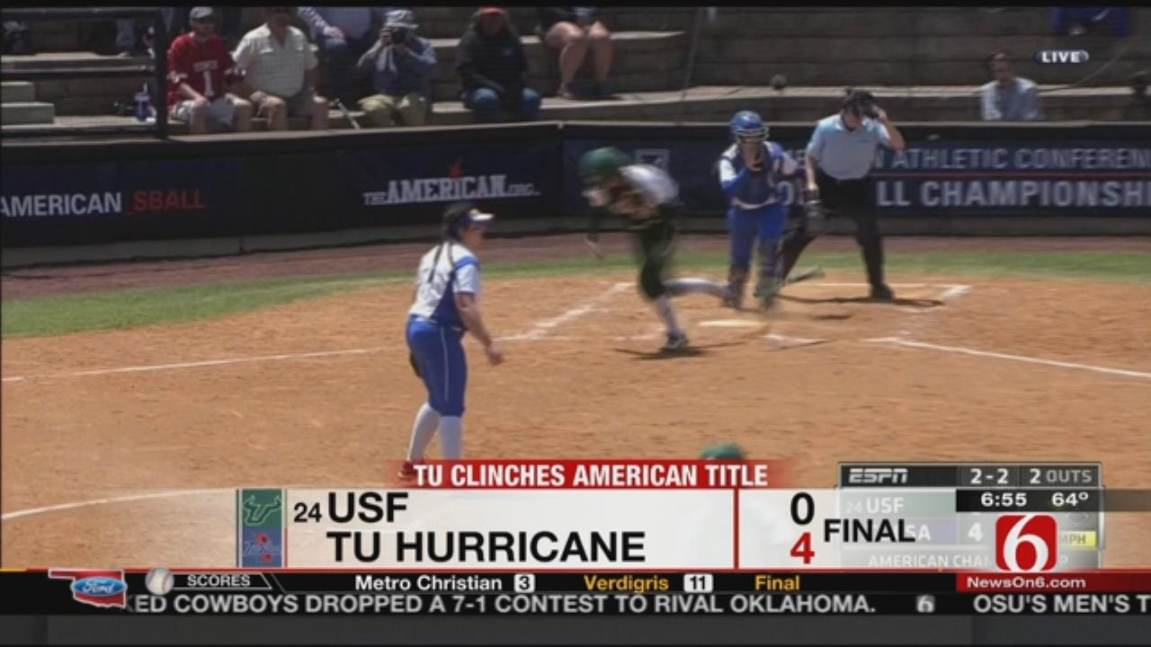 TU Shuts Out USF, Claims AAC Championship