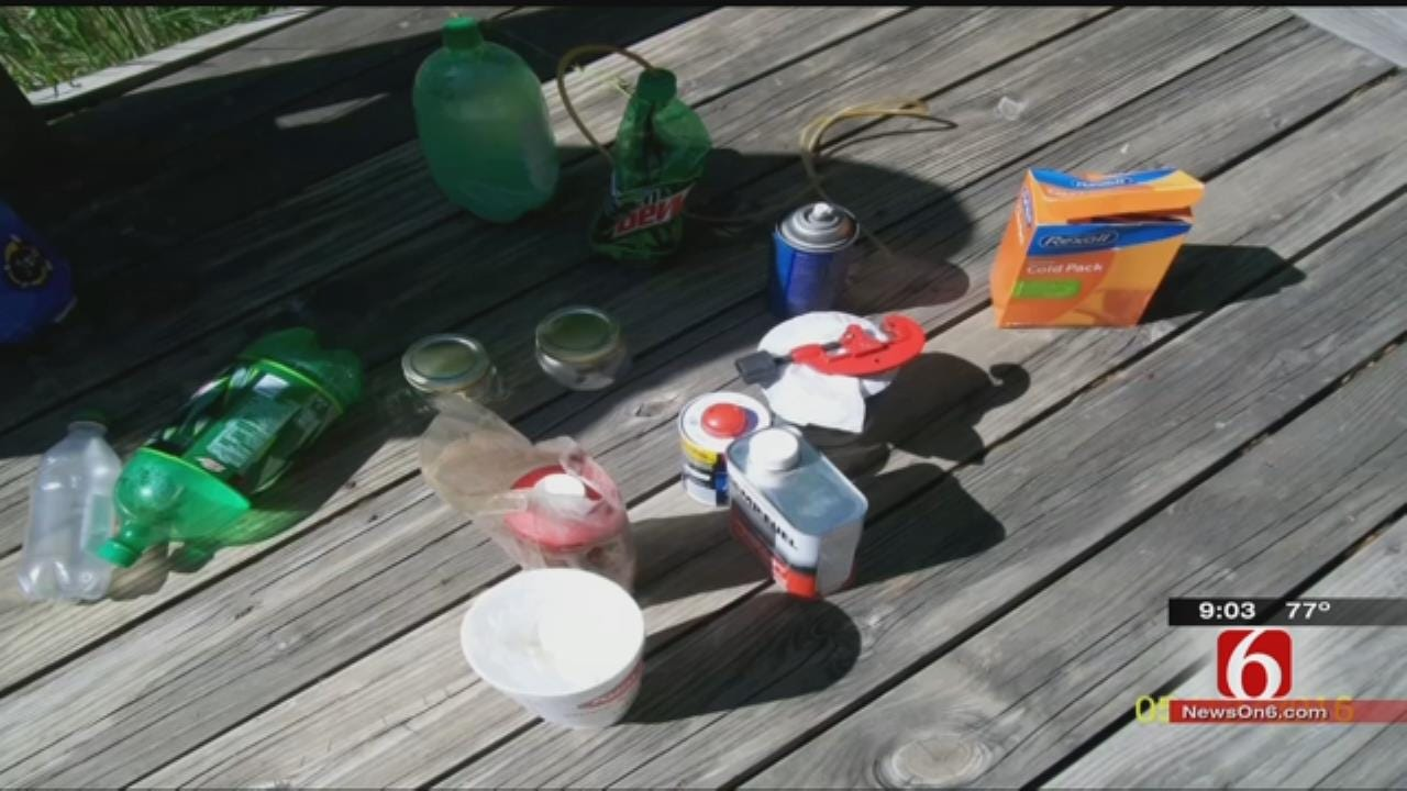 Mayes County Drug Bust Uncovers Several Meth-Making Operations