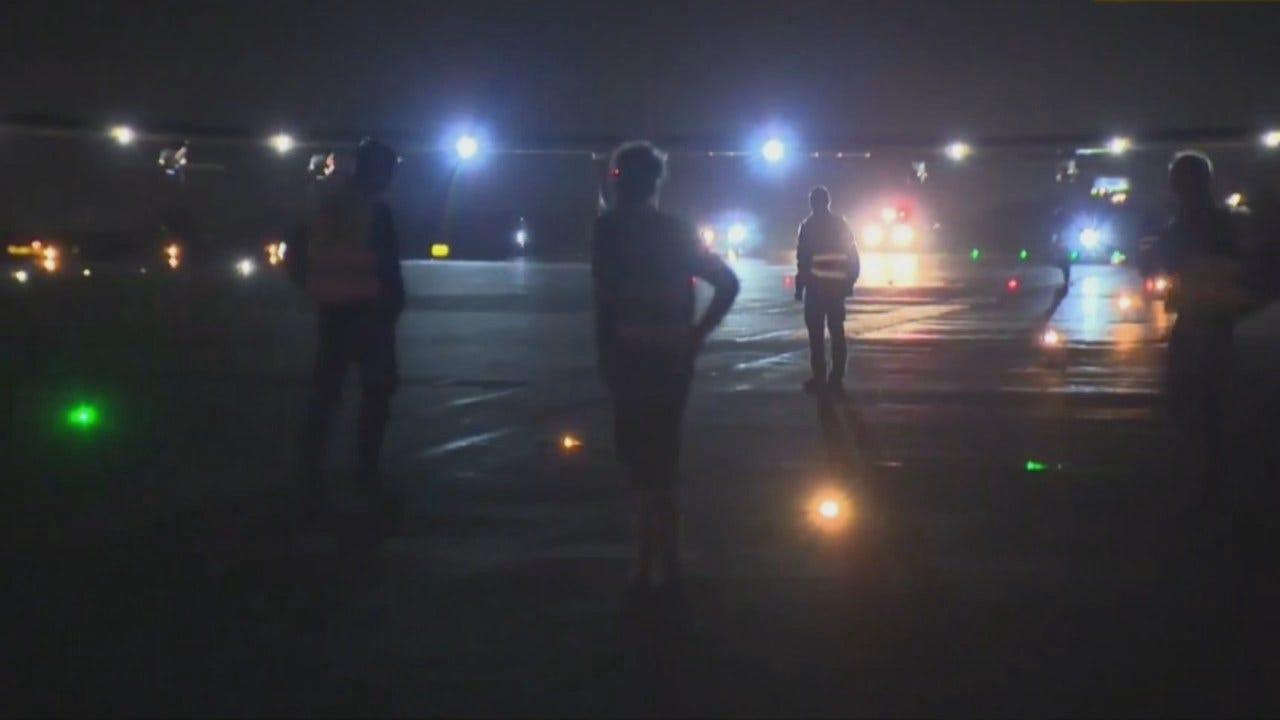 WEB EXTRA: Solar Impulse 2 Landing At Tulsa International Airport