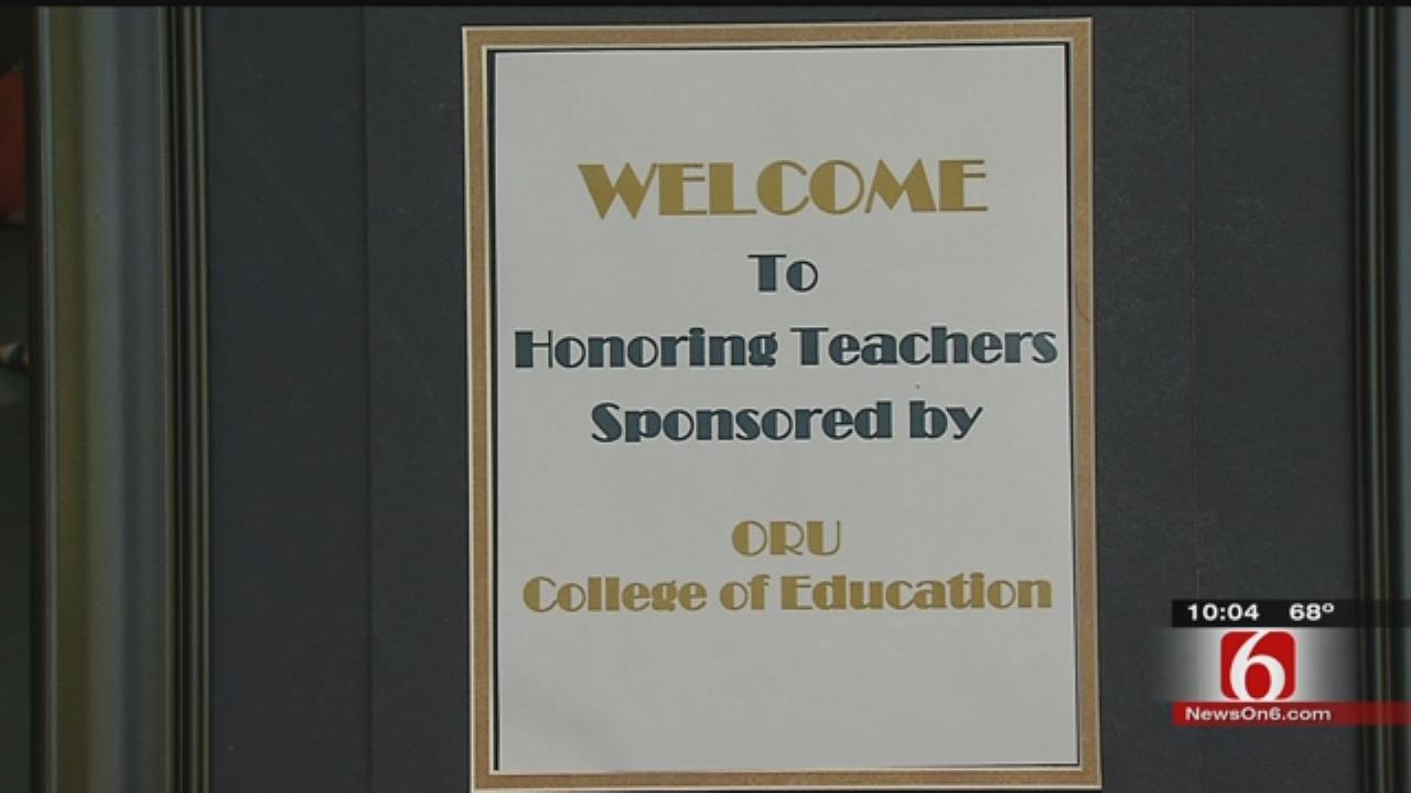 ORU Students Hold Inaugural 'Honoring Teachers Celebration'