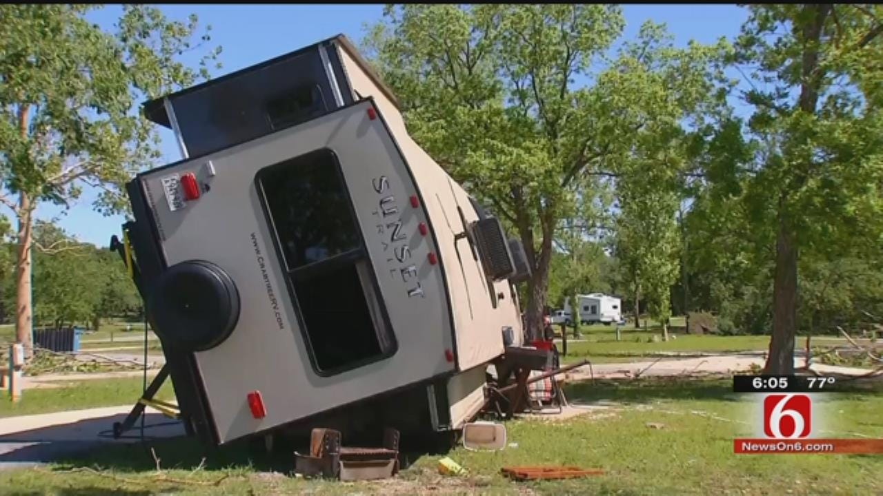 Woman Injured When RV Flips In Tenkiller Storm