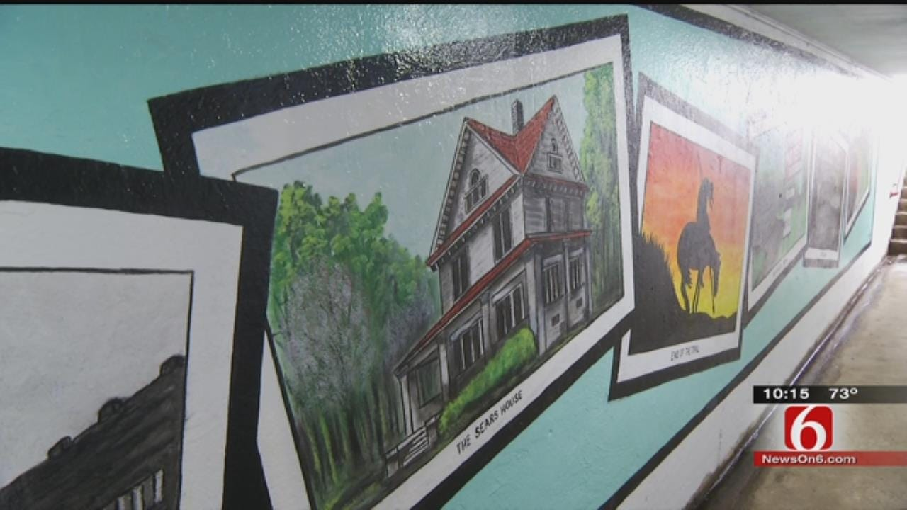 Chelsea's New Route 66 Mural Brings In Tourists, Vandals