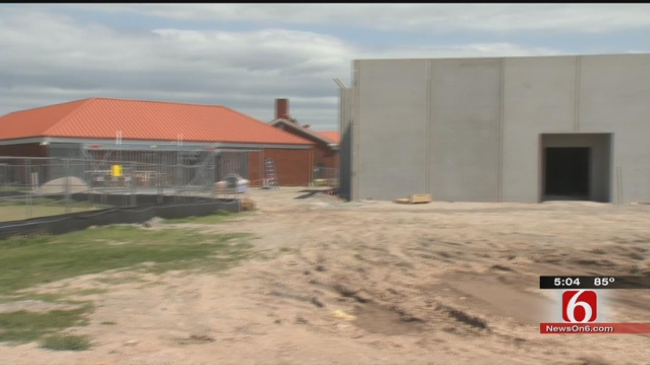 Tulsa Public Schools Begins Construction On Storm Shelters