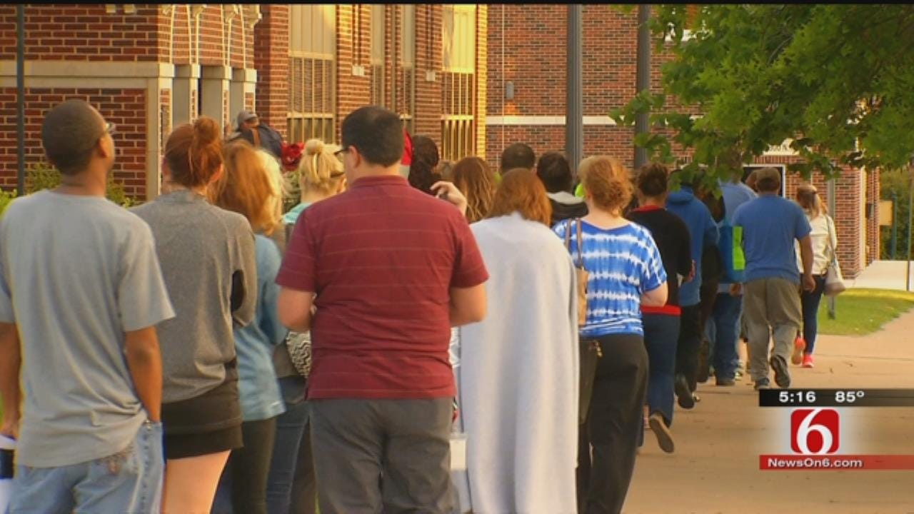 Broken Arrow Parents Line Up For Popular School Program