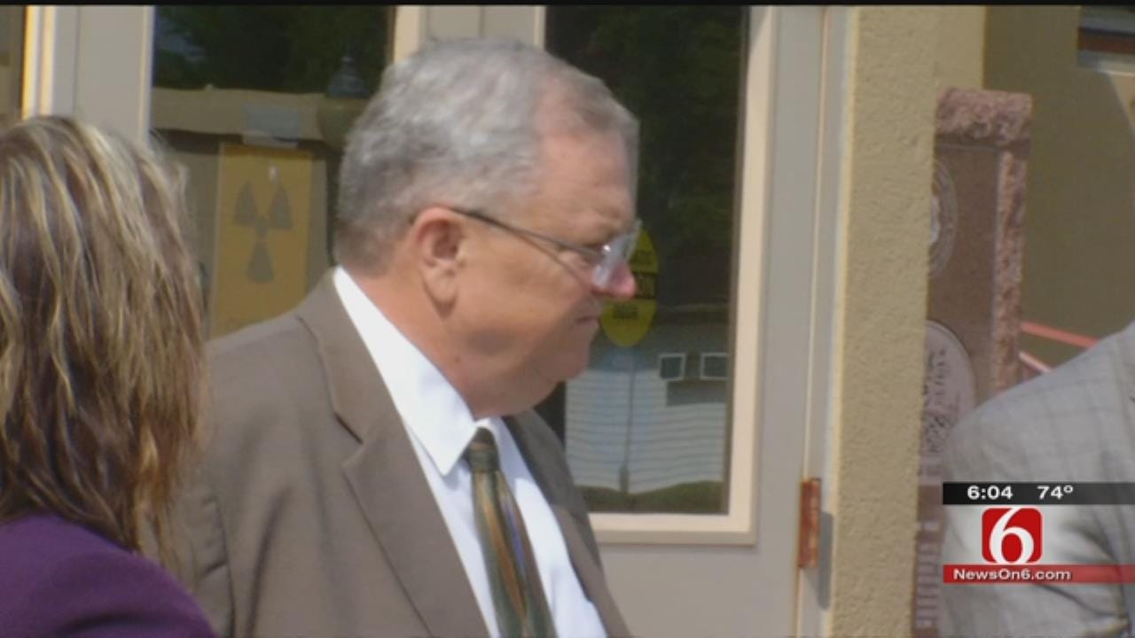 Suspended Wagoner County Sheriff, Deputy Plead 'Not Guilty' To Bribery, Extortion Charges