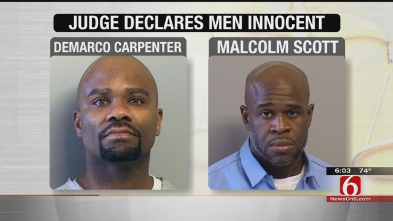 Two Oklahoma Inmates Found Innocent 20+ Years After Murder Conviction