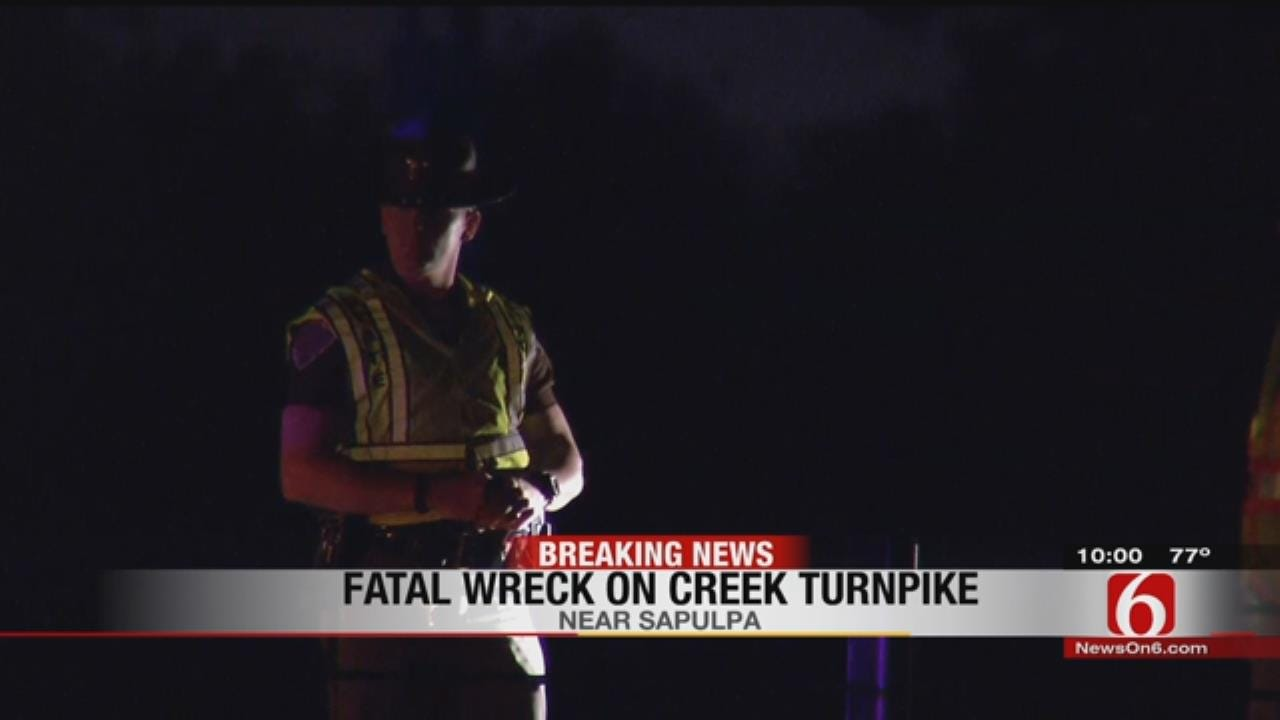 OHP: At Least 1 Dead In Creek Turnpike Crash