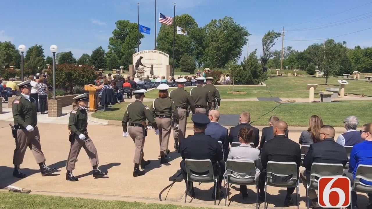 Tony Russell Says Tulsa Police Honor Fellow Officers Killed In The Line Of Duty