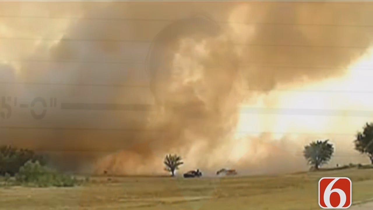 Tess Maune Reports On Bristow Man Charged In 2012 Creek County Wildfire