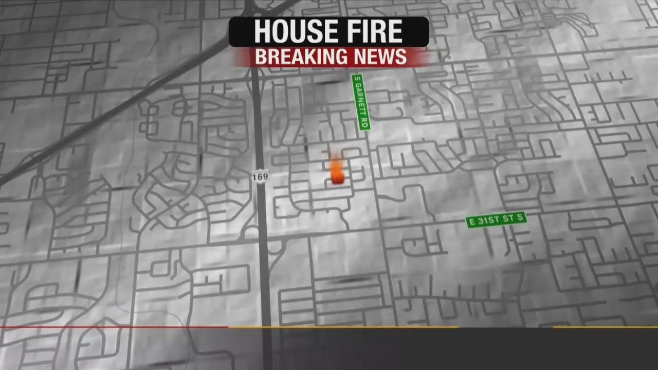Explosion, Fire Damages Tulsa Home