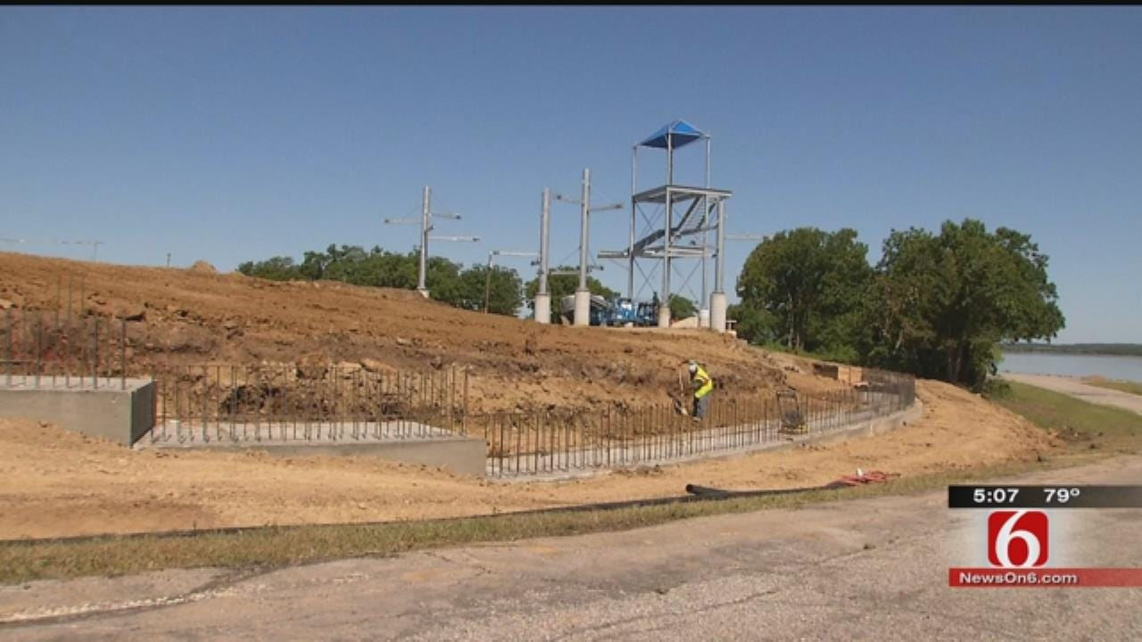 Construction Continues On Jellystone Water Park In Mannford